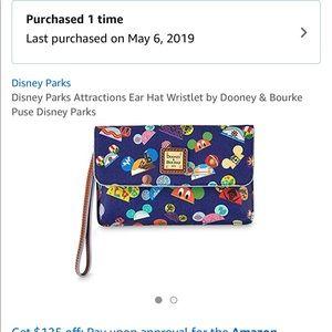 Dooney and Burke Disney hat wristlets brand new